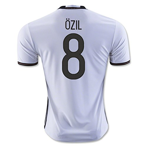 2014-15 Germany World Cup Home Shirt (Ozil 8) (Ozil 8, XXXL 48-50