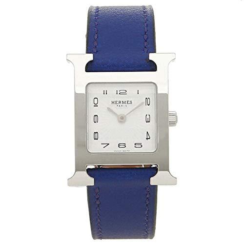 [エルメス] 時計 レディース Hウォッチ 21×21mm PM クォーツ HERMES (6)W038915WW00 ブルー [並行輸入品]