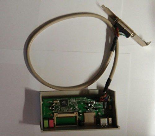6en 1Multi Panel Panel Conexión paralelo–Frontal tiene Audio USB Firewire (1344) CF/MD SM MS SD/MMC