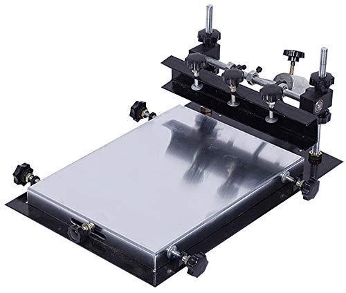 CGOLDENWALL Automatische SMT/SMD Screen PCB Stencil Printer SMT Handmatige Screen Printer Gegoten Aluminium Printing area :310 * 410mm