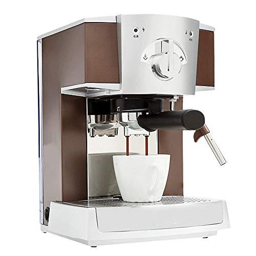 Gaone Macchina da caffè con Montalatte E Acqua Calda Macchina per caffè Espresso Macchina per Cappuccino Macchina per caffè in Acciaio Inox con Filtro Macchina per caffè E Montalatte