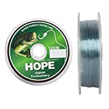 Hunting Hobby Hope Monofilament Less Visibility in Water Fishing Line (0.30 mm/100 m)