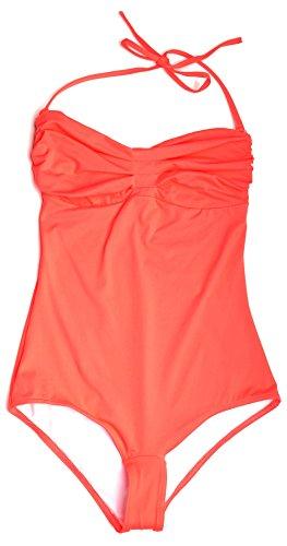 Huit Pleated Strapless Underwire One Piece Swimsuit 13, Bubble, 32D