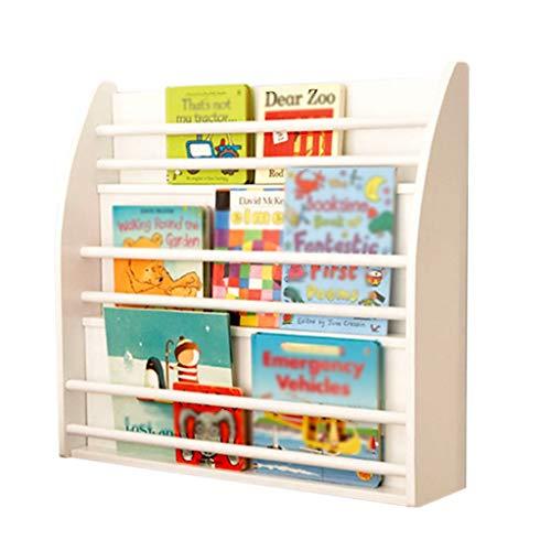 Boekenplank Art Media Opslag Containers Boek Plank Boek Planken Boekenkast Children's Houten Bibliotheek Muur Opknoping Picture Book Rack Multi-functie Vloer Boekenkast