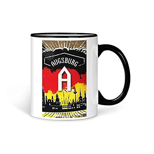 aina Tasse Kaffeetasser Stadt City Augsburg
