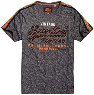 Superdry Premium Goods Racer Stripe tee Camiseta para Hombre