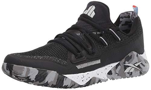 Reebok Men's JJ III Athletic Shoe, Black/Chalk, 9.5 M US