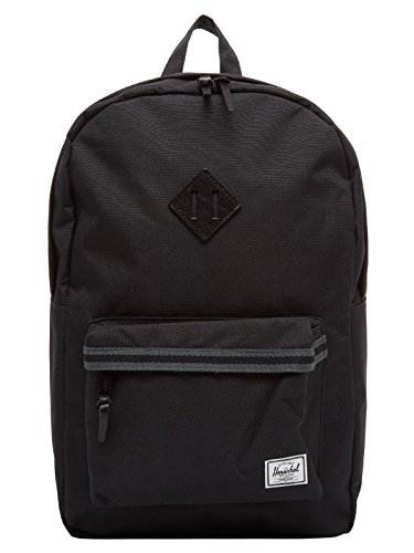 Herschel Heritage Rucksack schwarz/grau, OneSize