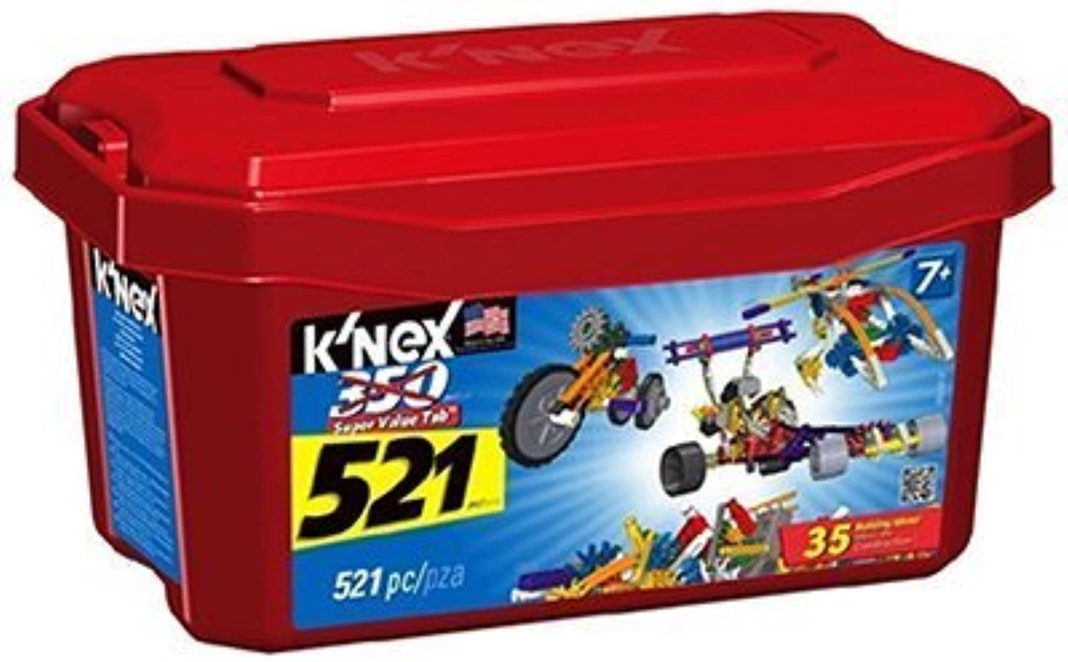 Knex Limited Partnership Group 12575 Building Set, 521-Pc. by Knex Limited Partnership Group