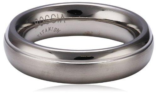 Boccia Damen-Ring teilpoliert Titan GR.60 0129-0160