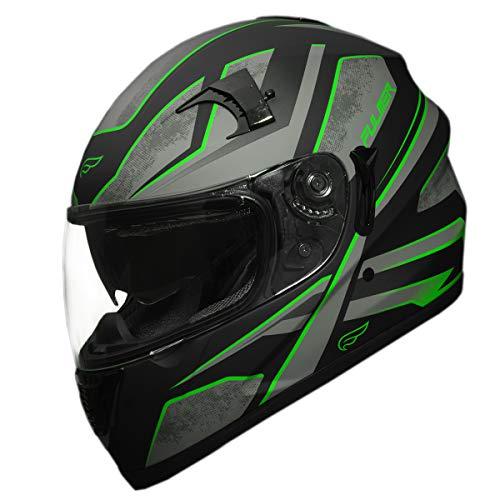 Fulmer 304 Kurio Solid Half Helmet Black