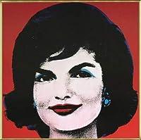 ポスター アンディ ウォーホル Jackie 1964(ジャクリーン・ケネディ) 額装品 アルミ製ベーシックフレーム(ゴールド)