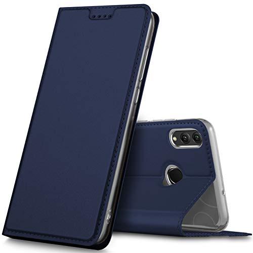 Preisvergleich Produktbild GeeMai für Honor 8X Hülle,  Honor View 10 Lite Hülle,  Leder Hülle Flip Case Tasche Cover Hüllen mit Magnetverschluss [Standfunktion] Schutzhülle Handyhülle für Honor 8X Smartphone,  Blau