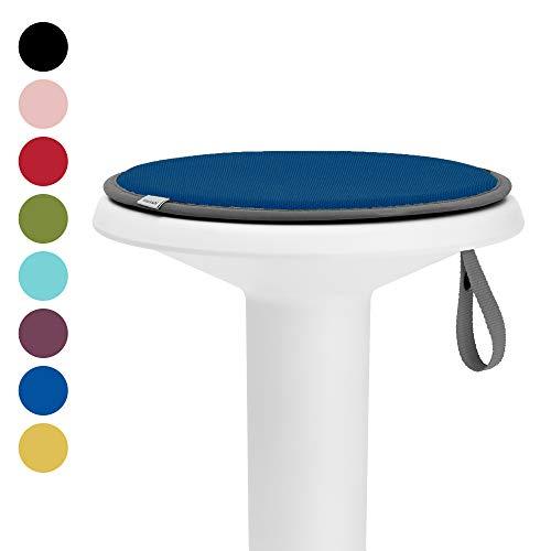 Interstuhl® UPis1 Premium Sitzkissen - Besonders bequemes Stuhlkissen perfekt geeignet für Hocker, Stühle, Bänke und Fußböden (Standard Edition, Signalblau)