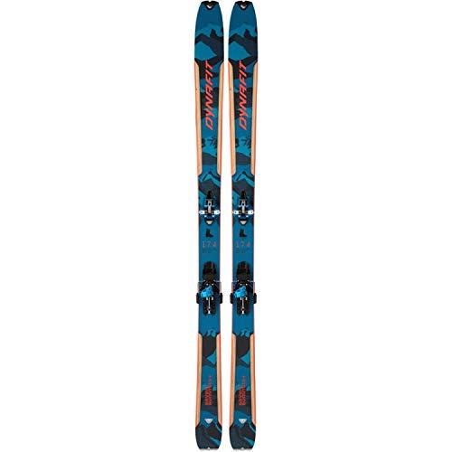 DYNAFIT Seven Summits+ Set Ski, Blau/Rot (Grau), 158