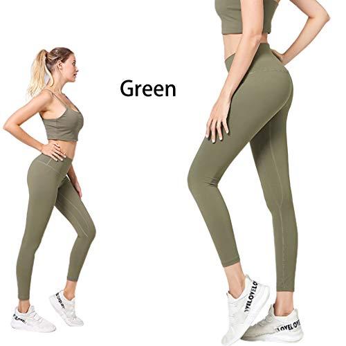 Planuuik Vrouwen Naakt Gevoel Hoge Taille Yoga Leggings Mat Geborsteld Butt Lift Sport Broek