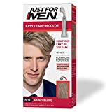 Just For Men Easy Comb-In Color (Formerly Autostop), Gray Hair Coloring for Men with Comb Applicator...
