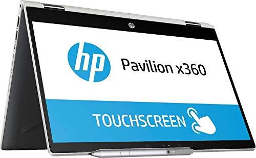 2019 HP Pavilion X360 Convertible 2-in-1 14″ HD Touchscreen Laptop Computer, 8th Gen Intel Core…