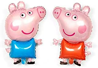 2pcs/lot Peppa George pig balloon Balloon Birthday Party Wedding Decorations