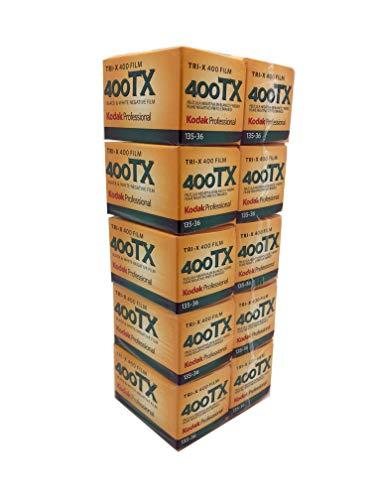 Kodak プロフェッショナル 白黒フィルム トライ-X400 36枚撮り(10本パック)