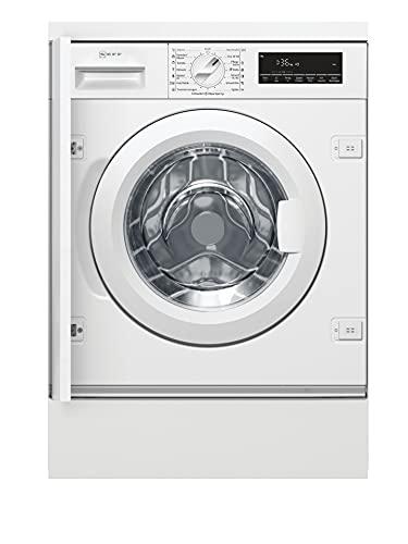 NEFF W6441X0 Einbau-Waschmaschine Frontlader / 137 kWh/Jahr / 1400 UpM / 8 kg / weiß / Anti-Flecken-Programme