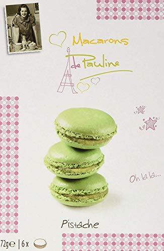 Macarons rellenos de Pistacho Macarons de Pauline