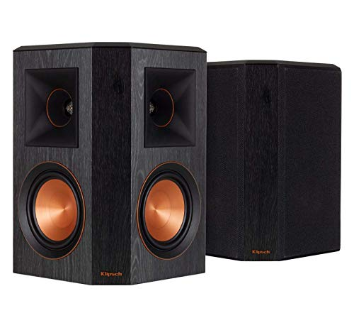 Why Choose Klipsch RP-502S Surround Sound Speakers (Pair) (Ebony) (Renewed)