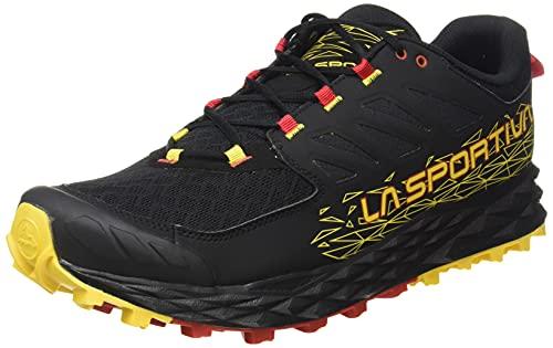 LA SPORTIVA Lycan II, Zapatillas de Trail Running Hombre, Black/Yellow, 43 EU