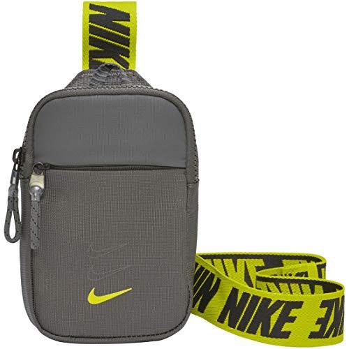 Nike Unisex Sportswear Essentials Hüfttasche, Iron Grey/Black/Cyber, Small