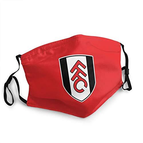 Nicegift Fulham Fc Face Bandana Adult Face Mask Cloth Breathable Washable And Reusable Earloop Bandana