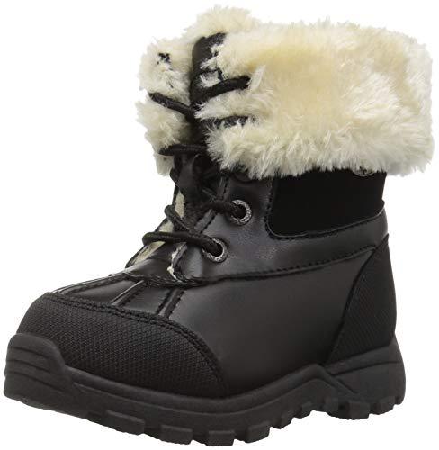 Lugz Baby Tambora Fashion Boot, Black/Cream, 9 D US Toddler