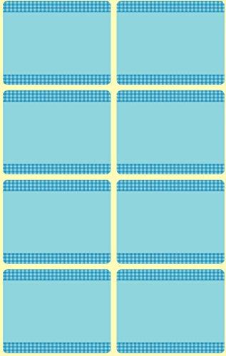 AVERY Zweckform 59374 GefrierEtiketten temperaturbeständig bis zu -20°C 40 Aufkleber blau