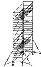 168235 Aluminium-Rollger/üst mit verstellbaren Auslegern* und Doppelplattform