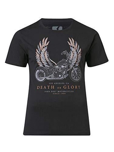 John Doe T-Shirt Homme | T-Shirt pour Le Sport ou Les Loisirs | Manche Courte | Col Rond | Coupe Confort