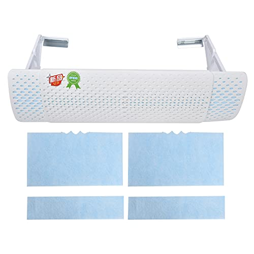 Deflettore di sfiato dell'aria condizionata, deflettore del condizionatore d'aria per ampia applicazione con foglio filtrante per l'home office