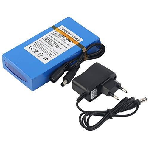 Ba30DEllylelly Sobrecarga Protectora DC 12V 8000MAH Li-Ion Batería súper Recargable de Respaldo Li-Ion para cámara CCTV