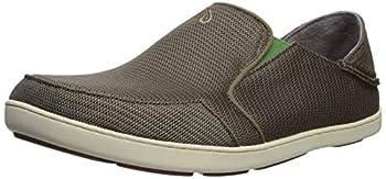 OLUKAI Nohea Mesh Men s Slip On Sneakers Lightweight Barefoot Feel & Breathable All-Weather Shoes Drop-in Heel & Comfort Fit