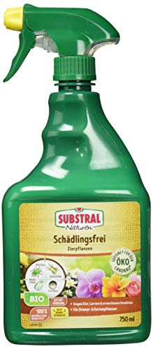 Substral Naturen Schädlingsfrei Zierpflanzen, natürliches Mittel gegen Schädlinge an Pflanzen, 750 ml Sprühflasche