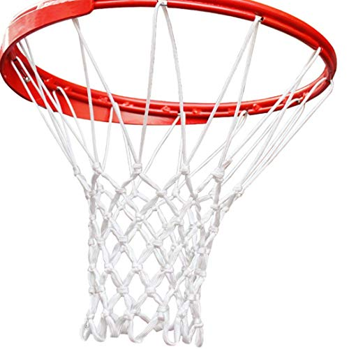 Cleats Inc Heavy Duty Basketball Net Replacement - Professional, Anti-Whip, All-Weather Design - Standard Size Indoor or Outdoor Net for 12 Loop Basketball Hoop - Thick, Quality Net with Easy Install