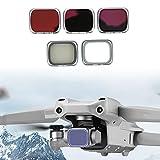 Akozon CPL Lens 5 En 1 Filtro UV Juegos De Filtros ND ND8 / 16/32 Juegos De Filtros para Air 2S Accesorios Filtro De Lentes De Cámara Fotografía Kit De Filtros Multicapa para Seaside Mountain