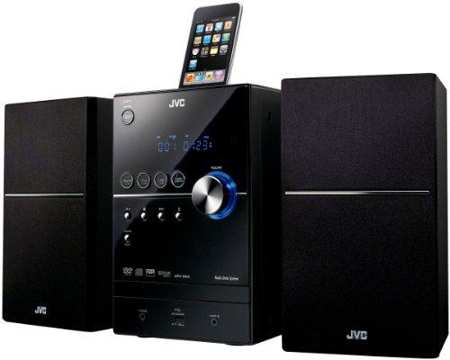 JVC UX-SG7VBE DVD Kompaktanlage (Apple iPod-Dock, USB 2.0)