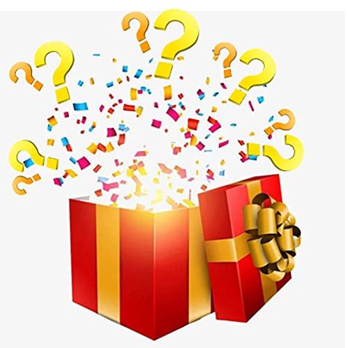 kunkamei Caja Misteriosa De Joyería Sorpresa, Caja Misteriosa Juego De Joyas De Plata Dorada para Mujeres Hace Buenos Regalos Todo Lo Posible para Vacaciones, Cumpleaños Y Fiestas