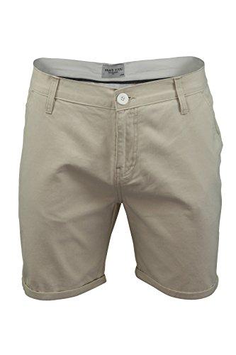 Herren Chino Shorts Von Brave Soul Baumwolltwill (Smith - Stone) XL