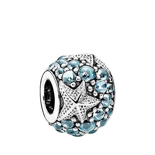 shangwang Suitable For Women's Jewelry Making, Suitable For Original Pandora Spell Bracelet Starfish Pendant 15