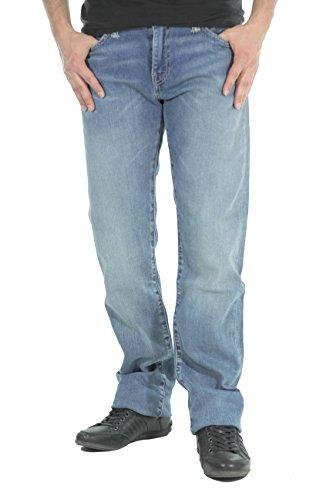 mächtig Levi's 504 Jeans, leichter Straight Fit Denim, W38L34