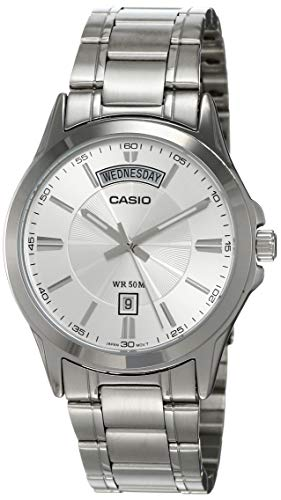 Casio MTP-1381D-7AVDF Men's Analog Quartz Classic Stainless Steel Watch