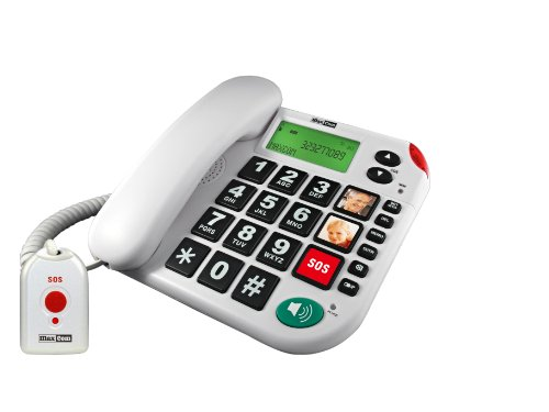 Senioren-Notruf-Telefon mit Notruf-Sender
