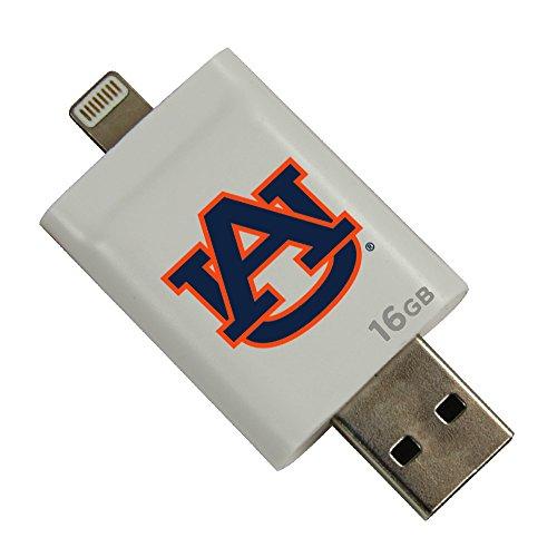 Auburn Tigers i-FlashDrive HD USB Drive 16GB - White