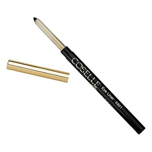 Coselle Eyeliner Schwarz, sehr weich, gut haftend, wasserfester Drehstift, kein Anspitzen, Made in Germany!