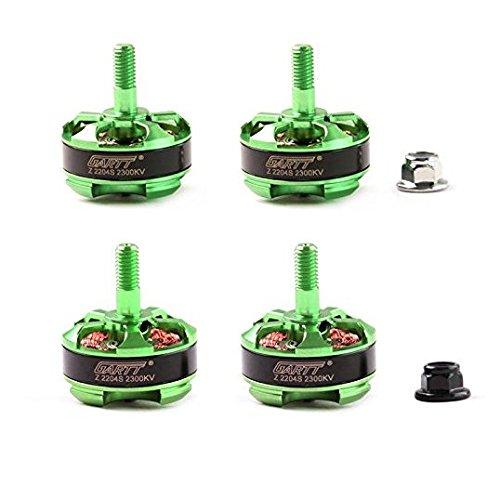 GARTT Z 2204S 2300 KV bürstenloser Motor CW/CCW grün für FPV 210 250 300 Drohnen QAV Quadcopter